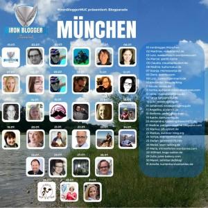 Die Blogparade der Ironblogger zum Thema München