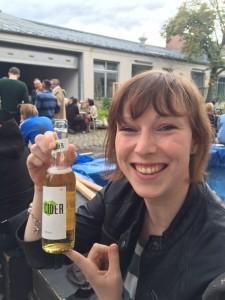Die Bestie präsentiert den Cidre ;)!