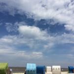 Ein Sommertag am Strand von Dornumersiel