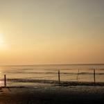 Sonnenuntergang in Norddeich