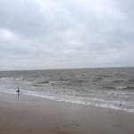 Die Nordsee bei Wilhelmshaven